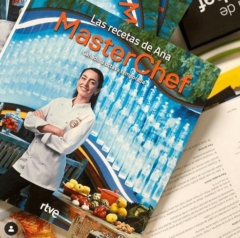 Ana Iglesias la más reciente ganadora de MasterChef