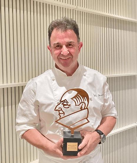 Martín Berasategui es uno de los cocineros españoles con más seguidores en Instagram