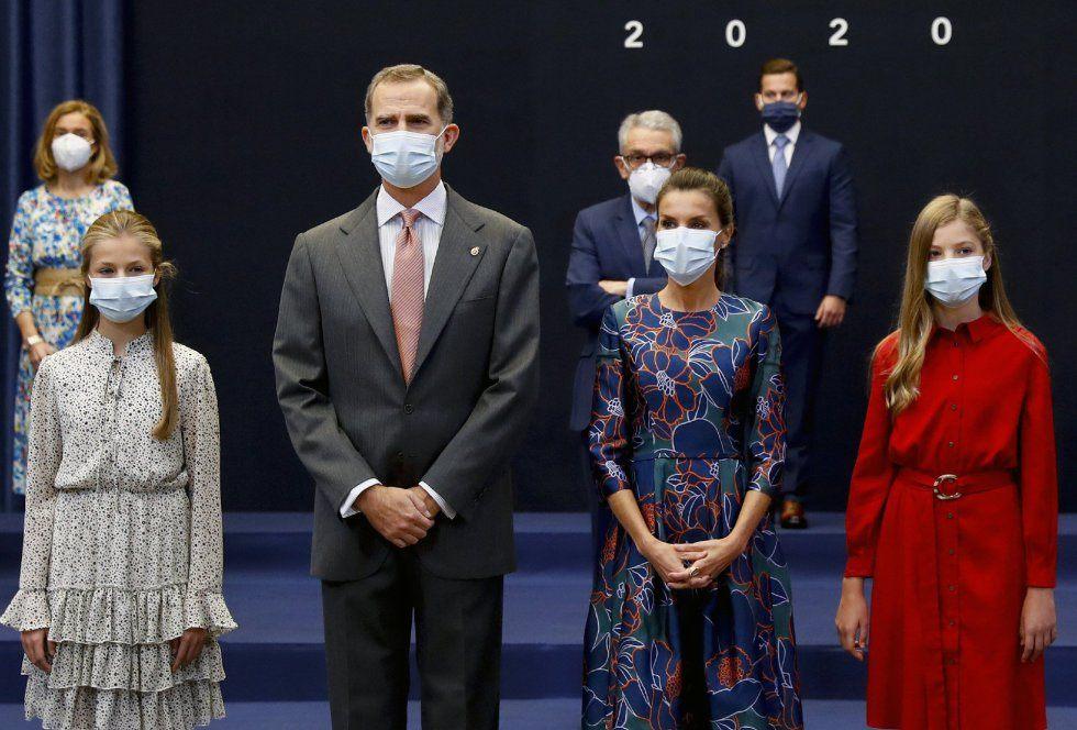 familia real premios princesa asturias 2020