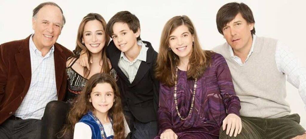 Tamara, Sandra e hijos del Marques de Griñon