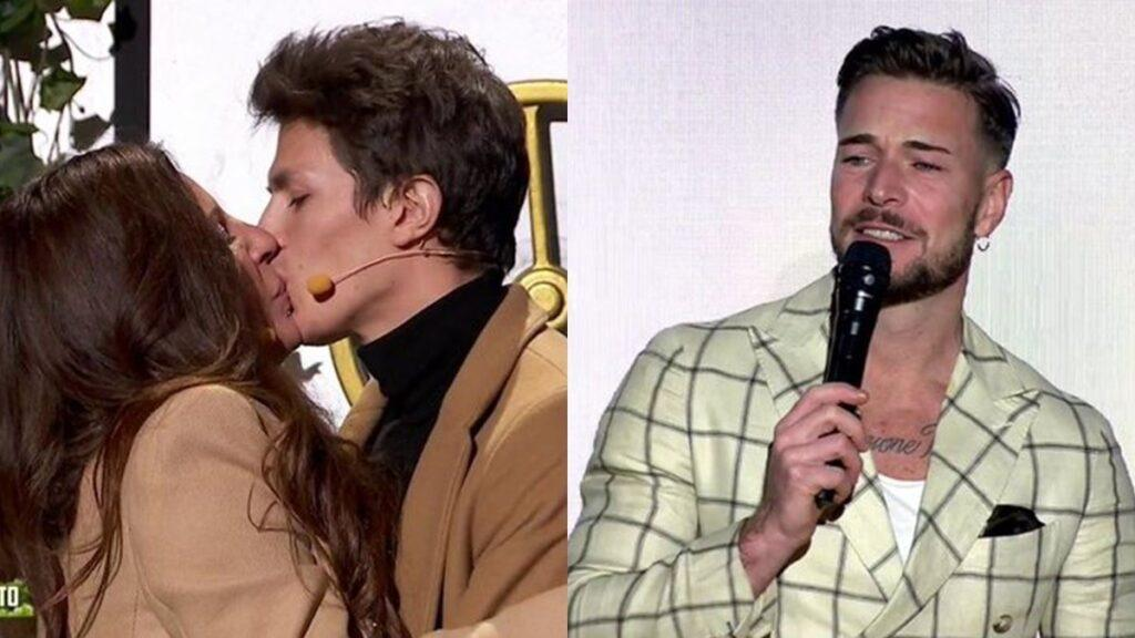 Beso de Sonia y JD