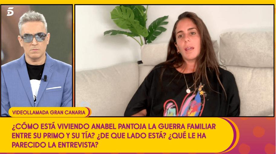 Anabel Pantoja la pasa mal por conflicto familiar
