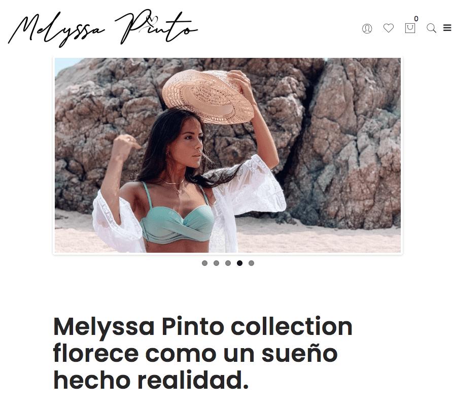 Melyssa Pinto Collection