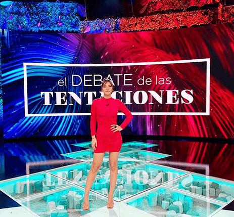 Marta en el Debate de las Tentaciones