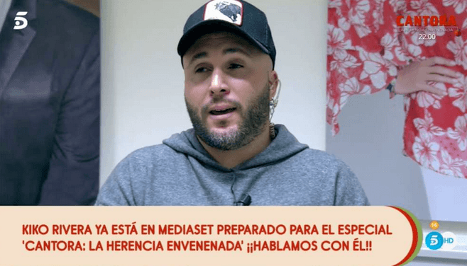 Kiko Rivera en Telecinco