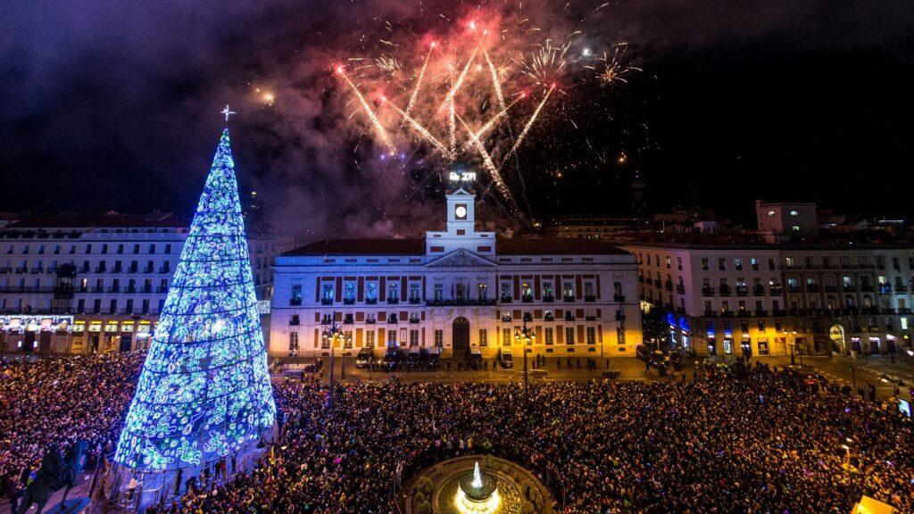 Campanadas en Puerta del Sol
