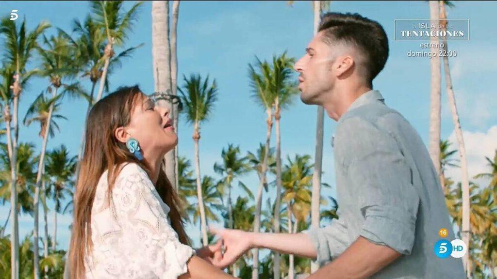 Marta y Lester en La Isla