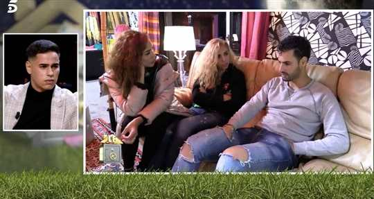 Asraf con Rebeca y Cristini