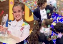 Ganadora de MasterChef Junior 8