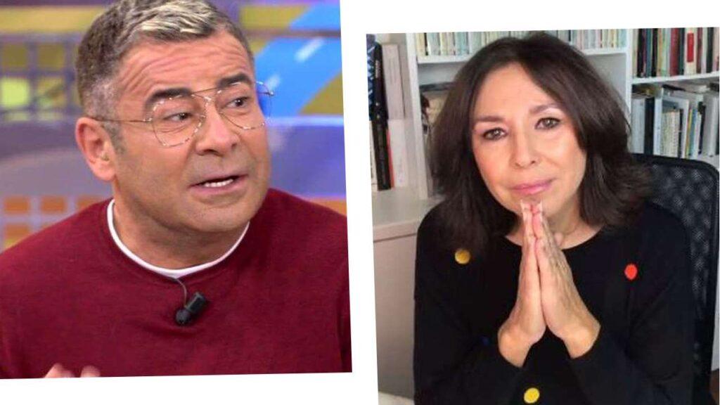 Isabel Gemio con Jorge Javier