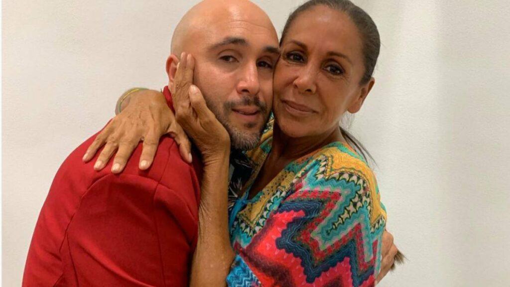 Isabel Pantoja con Kiko Rivera